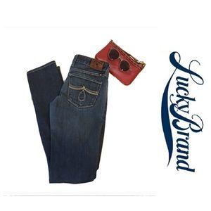 Lucky Brand Lola Skinny Jeans, 0